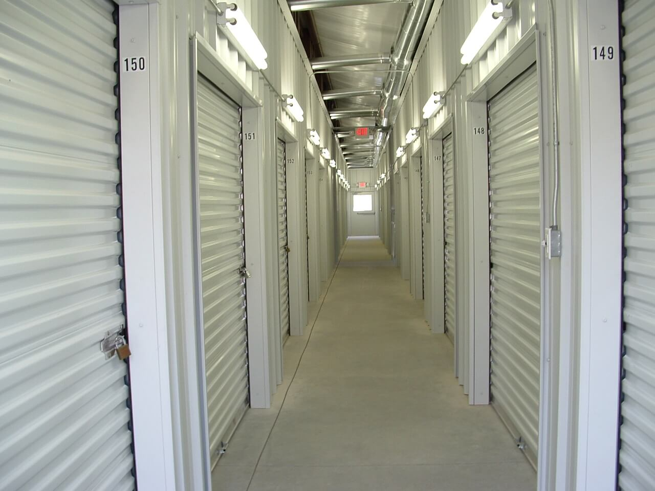 Indoor storage units in Kingston